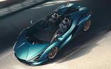 2020 Lamborghini Sian Roadster - top