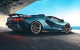 2020 Lamborghini Sian Roadster - rear