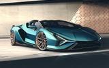 2020 Lamborghini Sian Roadster - static front