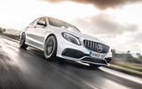 Mercedes-AMG C63 S 2018 front