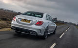 Mercedes-AMG C63 S 2018 rear three-quarter