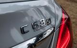 Mercedes-AMG C63 S 2018 badge