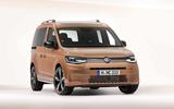 New VW caddy front