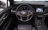 Cadillac XT5 Platinum dashboard