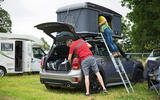 Mini Countryman Autohome roof tent vs Mercedes-Benz Marco Polo - camping on wheels twin-test