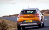 Renault Captur 2020 UK first drive review - on the road rear