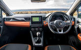 Renault Captur 2020 UK first drive review - dashboard
