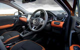 Renault Captur 2020 UK first drive review - cabin