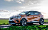 Renault Captur 2020 UK first drive review - static front