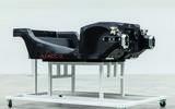 McLaren carbonfibre tub