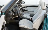 Mini Cooper S Convertible interior