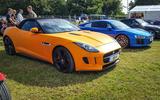 IT'S A WRAP: If the performance of your Jaguar F-Type isn't enough, make it orange