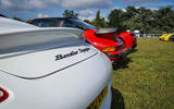 EVOLUTION OF THE SPECIES: Whether you want big or small, Porsche has a rear wing for you