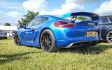 PORSCHE CAYMAN GT4: 3.8-litre flat six, 1340kg, manual gearbox, fun