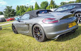 PORSCHE BOXSTER SPYDER: The lightest Porsche on sale when it was launched in 2009