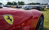 FERRARI F12 BERLINETTA: Even a Ferrari could look ordinary in this company