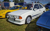 SERIES 1 FORD ESCORT RS TURBO: Powered by a 132bhp 1.6-litre turbo