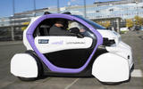 Driverless car trial takes place in the UK