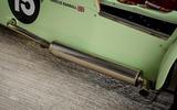 Caterham Supersprint exhaust system