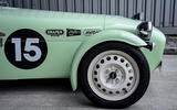 Caterham Supersprint steel wheels