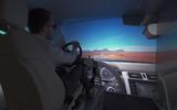 Range Rover Evoque virtual cockpit