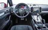 Porsche Cayenne GTS dashboard