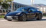 Porsche 718 Cayman spy