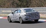 2020 Mercedes-Benz C-Class prototype at Nurburgring