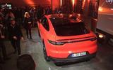 Porsche Cayenne Coupe rear