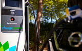 Audi E-tron charging with BP Chargemaster