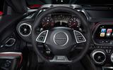 Chevrolet Camaro ZL1 dashboard