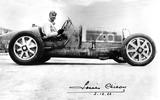 Louis Chiron driving a Bugatti Type 51