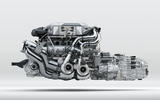 Bugatti Chiron W16 engine