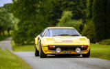 Ferrari 308 GTB rally car Cholmondeley Power and Speed