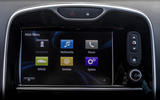 Renault Clio RS16 infotainment