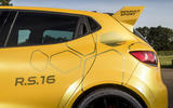 Renault Clio RS16 roof spoiler