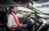Driving the Renault Clio RS16
