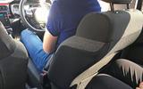 Citroën C3 rear seat space
