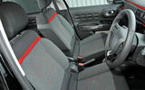 Citroën C3 satisfying seats