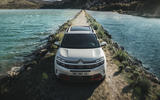Citroen C5 Aircross 2018 European launch on the road front