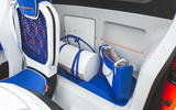 Citroen Ami One concept driven - behind seats luggage