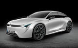 Citroen saloon render, as imagined by Autocar