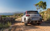 Citroën C3 Aircross hill descent