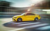 Mercedes-AMG CLA 35 cornering