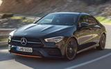 Mercedes CLA leaked image by Redline front three quarters