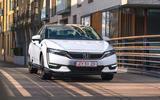 Honda Clarity Fuel Cell front quarter