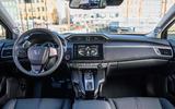 Honda Clarity Fuel Cell dashboard