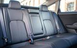 Honda Clarity Fuel Cell rear seats