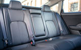 Honda Clarity Fuel Cell rear seats
