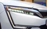 Honda Clarity Fuel Cell headlights